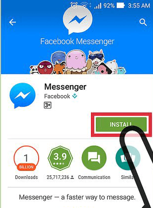 install messenger app