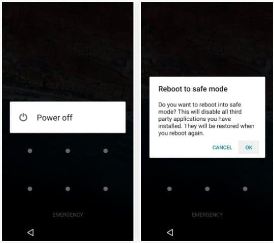 Boot Samsung Phone in Safe Mode to Remove Lock Screen