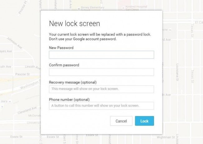 Bypass Samsung Screen Password with Google Account