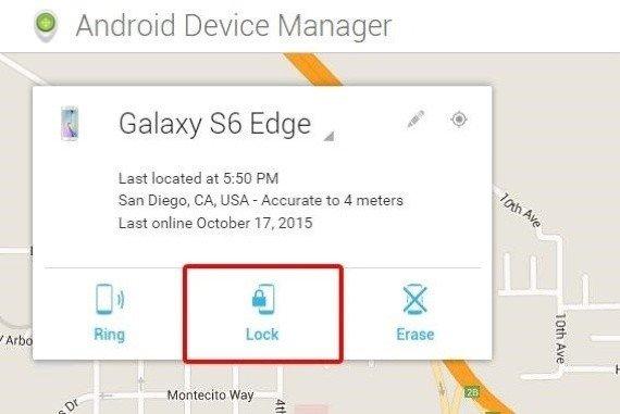 Unlock Samsung Screen Password with Google Account