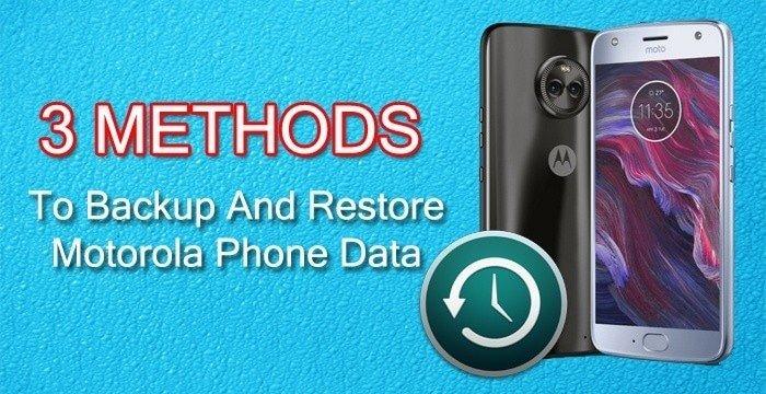 Motorola Phone Backup