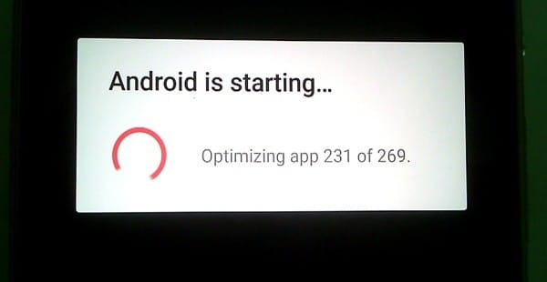 Resolve Android Is Starting Problem