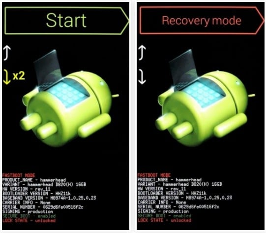 Enable USB Debugging On Locked Android Via Recovery Mode