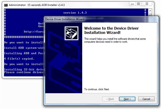 Install Minimal ADB and Fastboot Tool