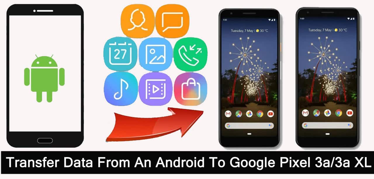 How To Transfer Data From Android To Google Pixel 3a (XL)