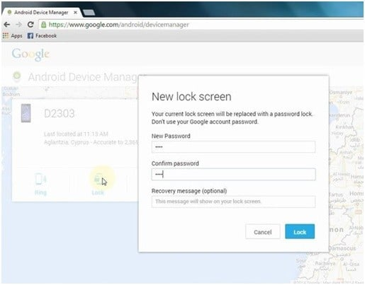 Bypass LG Screen Lock Using Android Device Manager