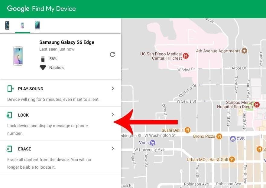 Unlock LG Phone Screen Lock With Google Find My Device