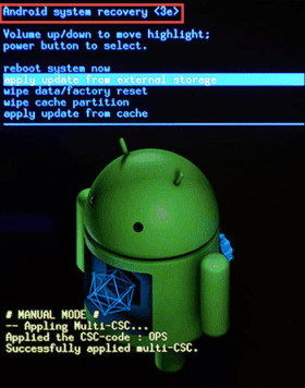 What Is Android System Recovery 3e