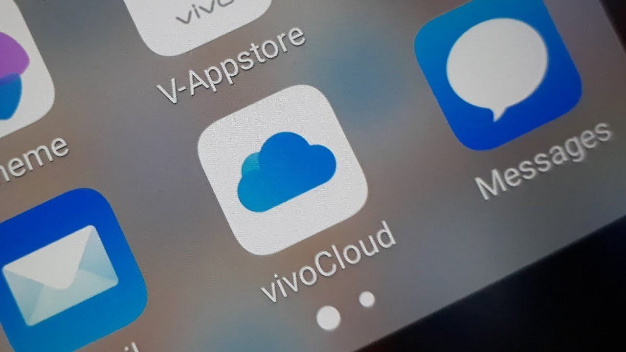 Restore Data From VivoCloud