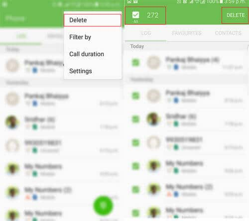 How To Delete Call History On Android