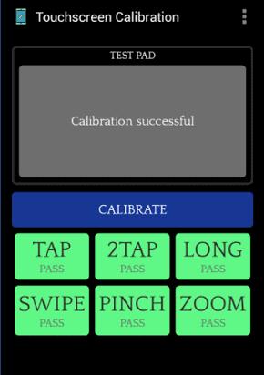 Calibration Touchscreen App To Fix Screen Not Responding Problems