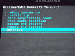 Fix Android Stuck In Bootloop Using CWM Recovery Mode