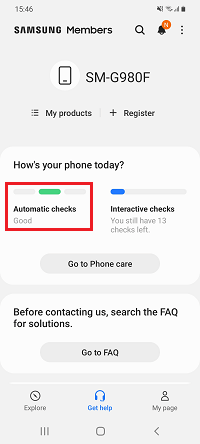 Fix Samsung Screen Is Not Rotating By Performing Automatic Check