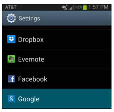 Restore Data from Google Backup On Android